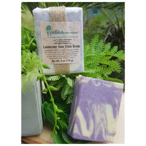 Lavender Sea Oats: finely ground oatmeal for exfoliation and lavender essential oil. Now made with coconut milk!