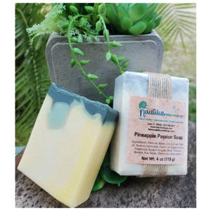 Pineapple Passion: a lightly scented soap