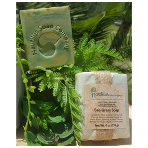 Sea Grass: scented with Lemongrass essential oil